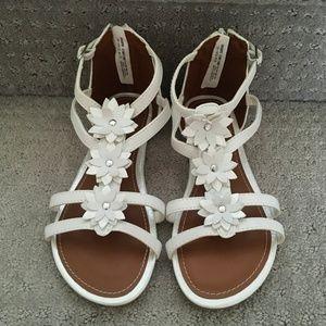 Girl's Wonder National Floral Sandals - NEVER WORN